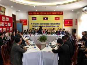 THE 11 MEETING OF JOINTCOORDINATION COMMITTEEONCAMBODIA LAOS-VIETNAM DEVELOPMENT TRIANGLE AREA  Binh Phuoc, 19th December 2017  #minhlongmedia.vn cung cấp trang thiết bị phục vụ sự kiện quan trong này.