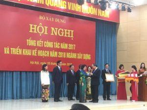Thủ tướng dự hội nghị triển khai kế hoạch năm 2018 ngành Xây dựng