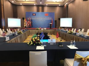 23th Asean – China jont working group metting on the declaration on the conduct of parties in the sound china sea