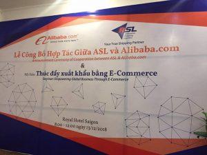 LỄ CÔNG BỐ HỢP TÁC GIỮA ASL VÀ ALIBABA.COM