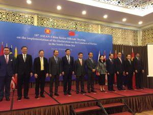 HỘI NGHỊ QUAN CHỨC CAO CẤP ASEAN – TRUNG QUỐC VỀ THỰC HIỆN DOC